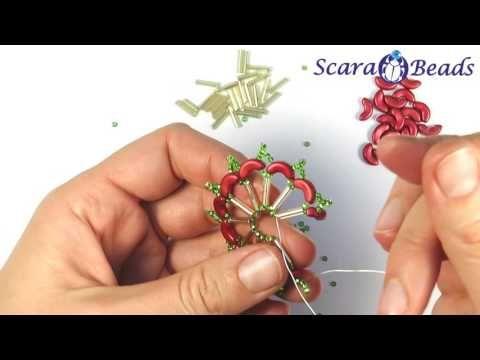 Основа колье бусины бисероплетение Черемисина Scarabeads arcos beads