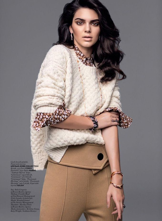 Кендалл Дженнер на обложке турецкого Vogue (Интернет-журнал ETODAY)