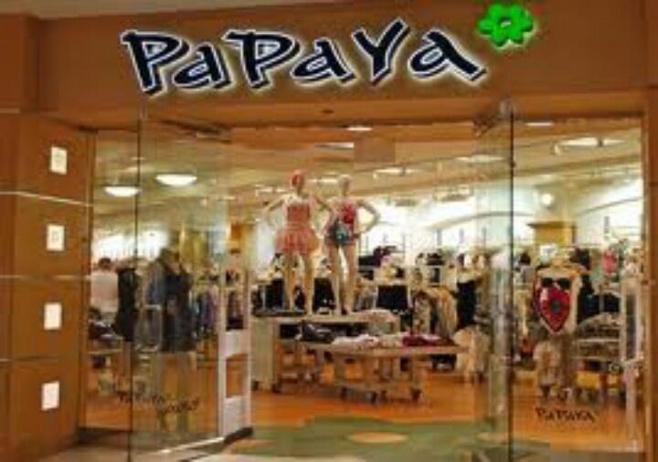 Papaya clothing store
