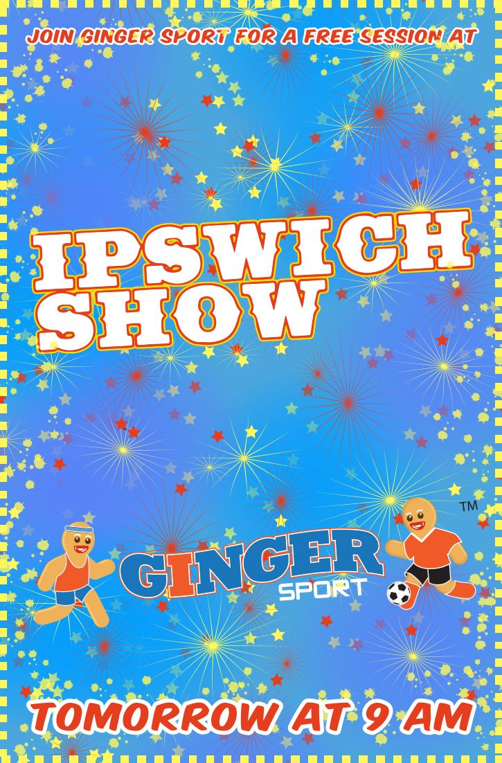 Come on down to the Ipswich Show tomorrow at 9 am for a free session!