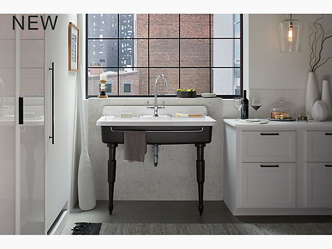 Farmstead 45 X 25 X 9 Top Mount Wall Mount Kitchen Sink With