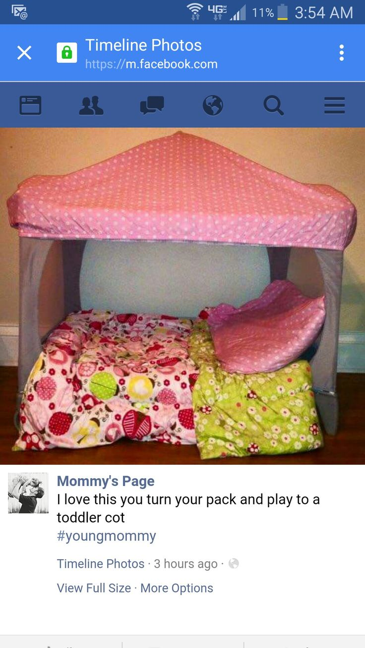 Reuse pack and play!