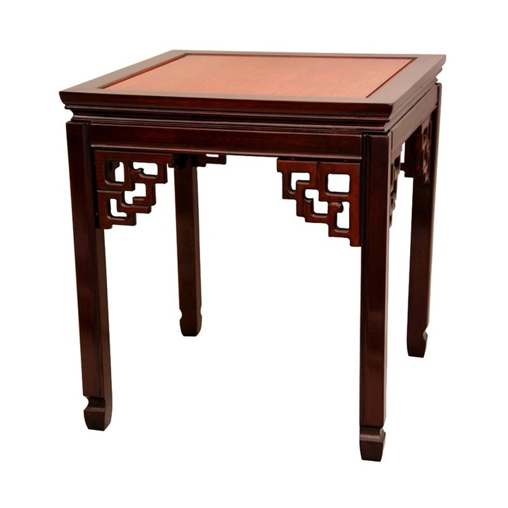 Oriental Furniture ST PA106 Rosewood Square Ming Table