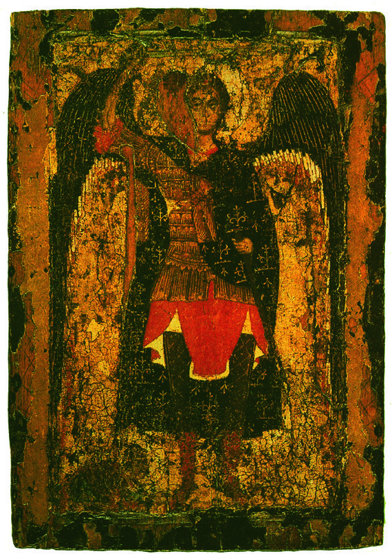 XIII в.  Явление Архангела Михаила Иисусу Навину