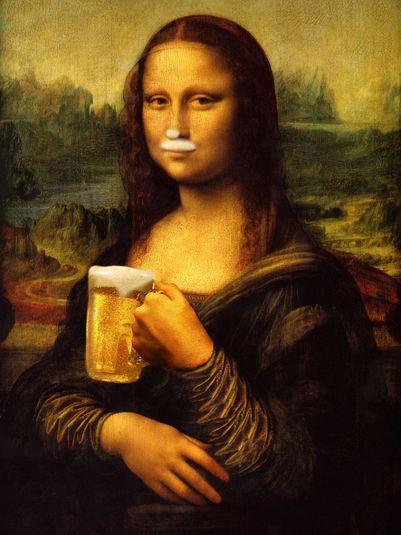 Monalisa mona chopp bom humor