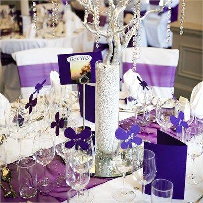 purple wedding colour scheme.