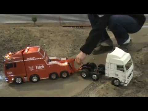 Rc Truck (Truck meeting 16-04-2011 Salvage) - YouTube