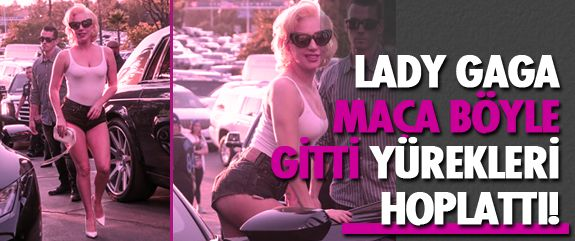 Dünyaca ünlü şarkıcı Lady Gaga önceki gün Los Angeles'ta beyzbol maçı için gittiği Dodger Stadyumu'nda görüntülendi. 31 yaşındaki şarkıcı mini şortu ve askılı cesur kıyafetiyle yürekleri hoplattı!