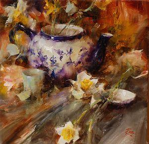 Still Life with Daffodils: Laura Robb