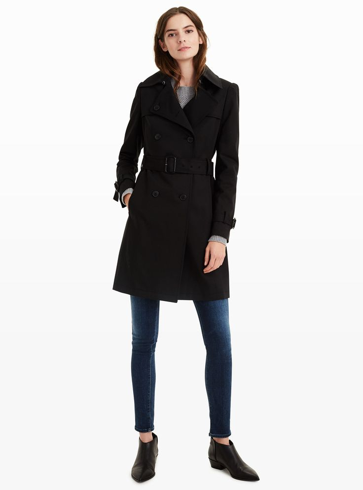 5 Trench Coats to Shop During Club Monaco's President's Day Sale - Lamae Trench Coat from InStyle.com