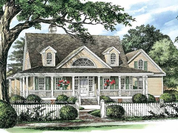 Eplans Farmhouse House Plan   Spacious Country Home   2298 Square Feet And  4 Bedrooms From Eplans   House Plan Code