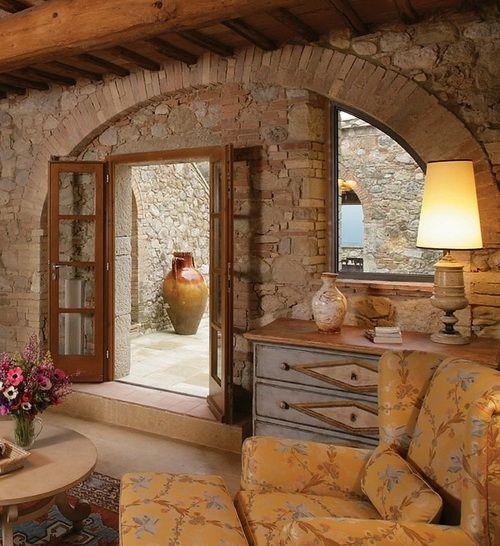 Hotel Castello Di Casole Tuscany Italian FarmhouseFarmhouse InteriorFarmhouse