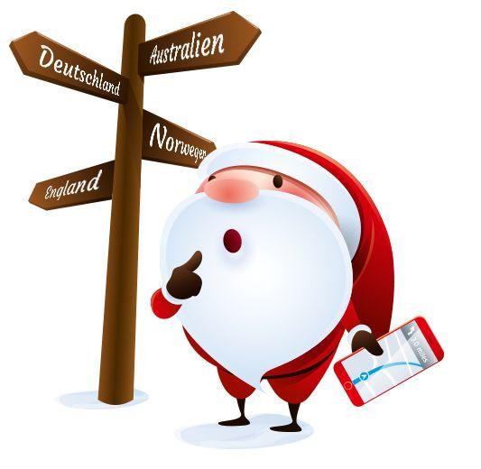 Begleiten Sie unseren Weihnachtsmann auf Reisen und sichern Sie sich bis zum 27.12. die Chance auf eine Xbox One S inkl. FIFA 17 und vieles mehr!