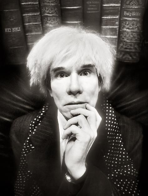 Andy WARHOL by David LACHAPELLE