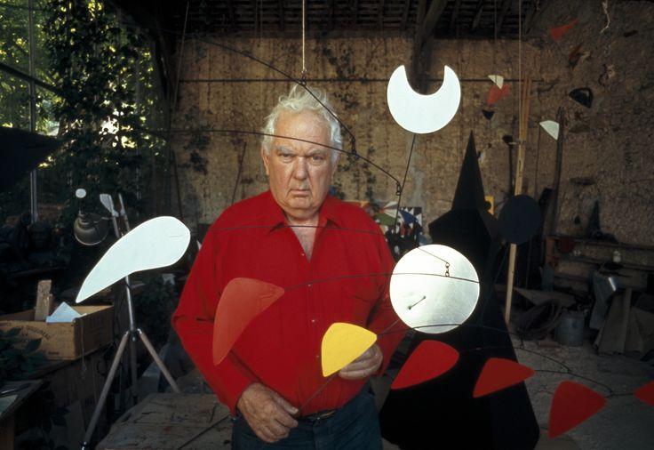 Alexander Calder, photo by Tony Vaccaro