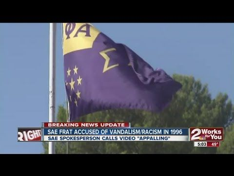 Oklahoma: SAE Fraternity has Troubled History of Race Vandalism, Hazing - http://www.juancole.com/2015/03/oklahoma-fraternity-vandalism.html