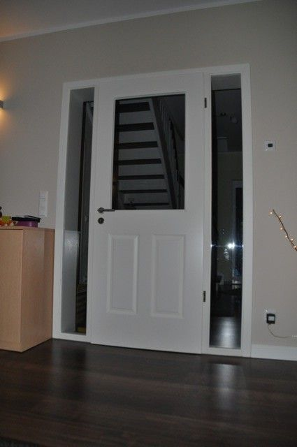 Wohnzimmer Innentur Mit Glasausschnitt Home In 2019 Home Und Haus