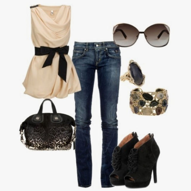 Love. Love. Love.Shoes, Dates Night Outfit, Fashion, Style, Clothing, Shirts, Girls Night, Jeans, Cute Outfit