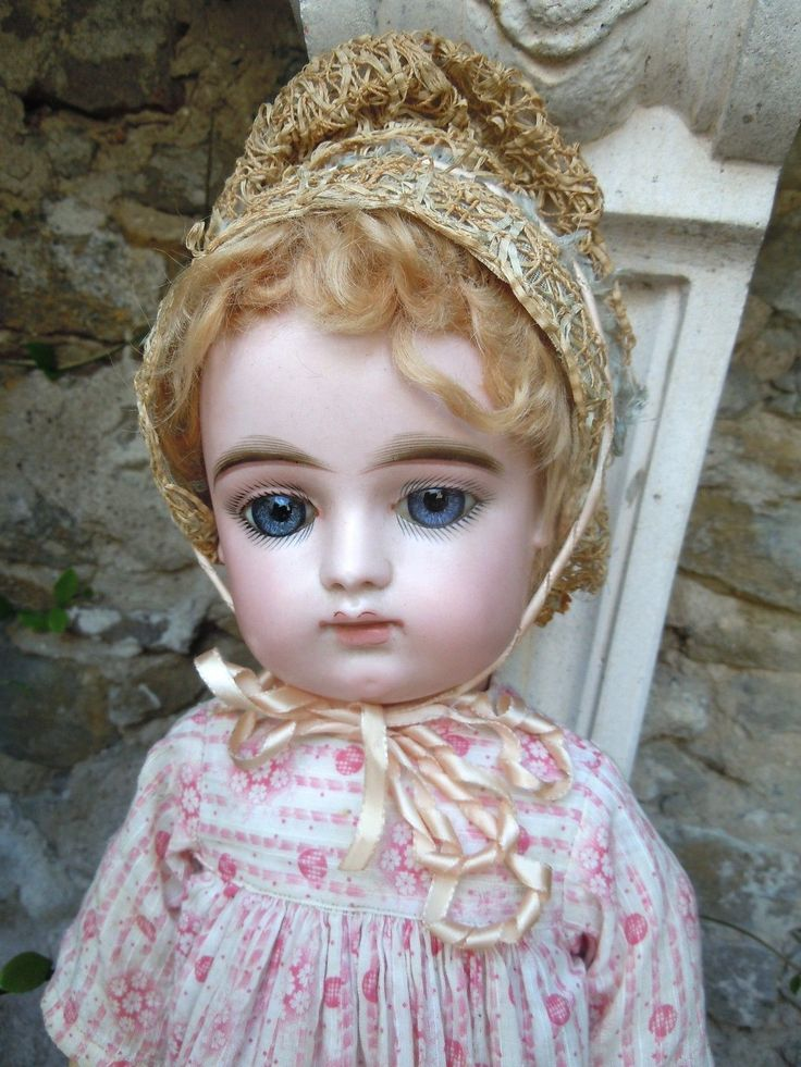 beautiful FG french bisque doll in scroll | Dolls & Bears, Dolls, Antique (Pre-1930) | eBay!