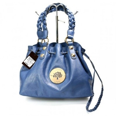 Exclusive Mulberry Women Daria Drawstring Leathers Blue Tote Bag £170.24 go to http://www.mulberryoutletyork.me.uk
