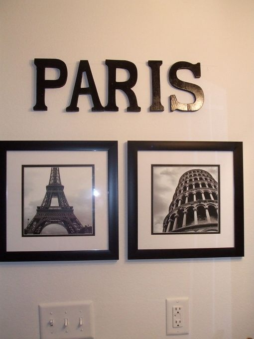 PARIS themed bathroom HGTV