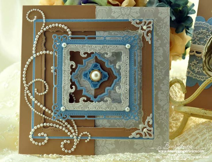 Video tut for gorgeous gate fold card.