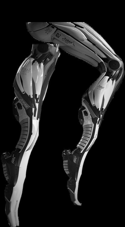 "Sarif Industries legs from ""Deus Ex: Human Revolution"""