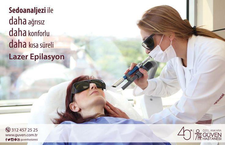 Sedoanaljezi ile lazer epilasyon. http://www.guven.com.tr/haber_detay.php?a=sedoanaljezi-ile-lazer-epilasyon