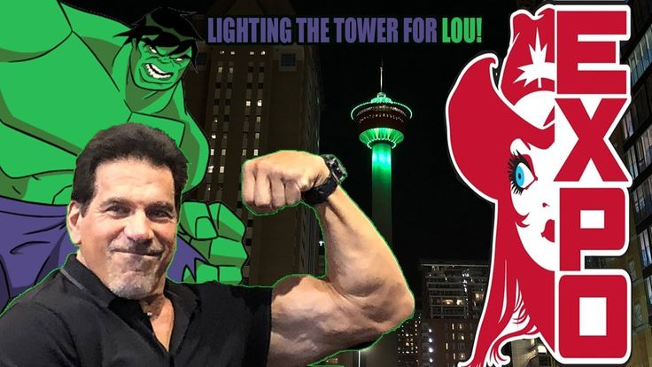 Calgary Comic Expo Party with Lou Ferrigno! (Part 1)
