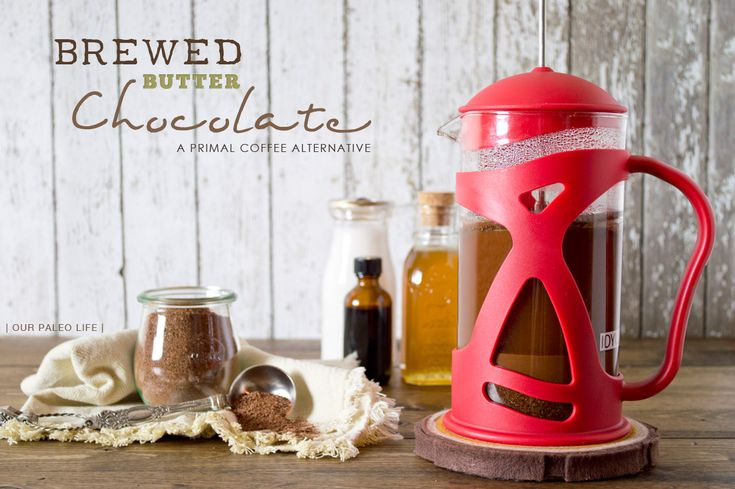 Brewed Butter Chocolate by @ourpaleolife #paleo