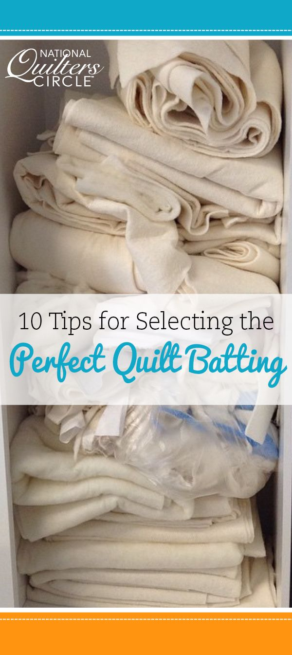 Looking for quick tips on choosing the perfect quilt batting? Download our free guide with 10 helpful tips! #letsquilt