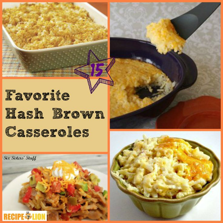 15 Favorite Hash Brown Casserole Recipes - These hash brown casseroles ...