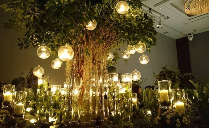 パレスのアイテムフェアへ✴  本当に癒された時間でした そして、色々と収穫ありyeah * 既に、パレスにして良かった感(笑) * * #パレスホテル東京#アイテムフェア#シンボルツリー#muku#placehotelTokyo#葵東