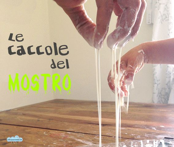 The monster snot: a great Halloween Science experiment