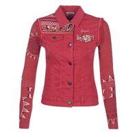 Υφασμάτινα Γυναίκα Τζιν Μπουφάν/Jacket  Desigual PALOSHO Red