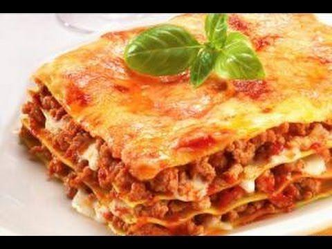Como hacer una Lasagna vegetariana con hongos y berenjenas - vegetarian Lasagna - YouTube
