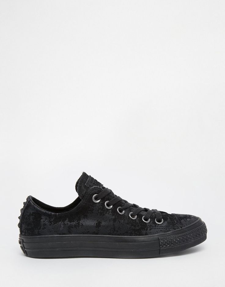 Converse Sparkle Black Chuck Taylor With Hardware Trainers
