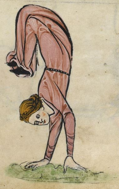 Detail from The Rutland Psalter, ca.1260, British Library Add MS 62925. f 65r