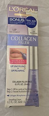 NEW L'Oreal Skin Expertise Collagen Filler Lip Line Filling Plumping + Free Gift