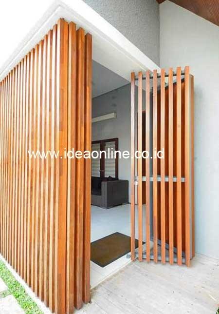 Unique Wooden Door!