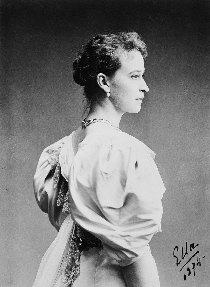 W Lapre : St.Petersburg - Grand Duchess Elizabeth Feodorovna (1864-1918)