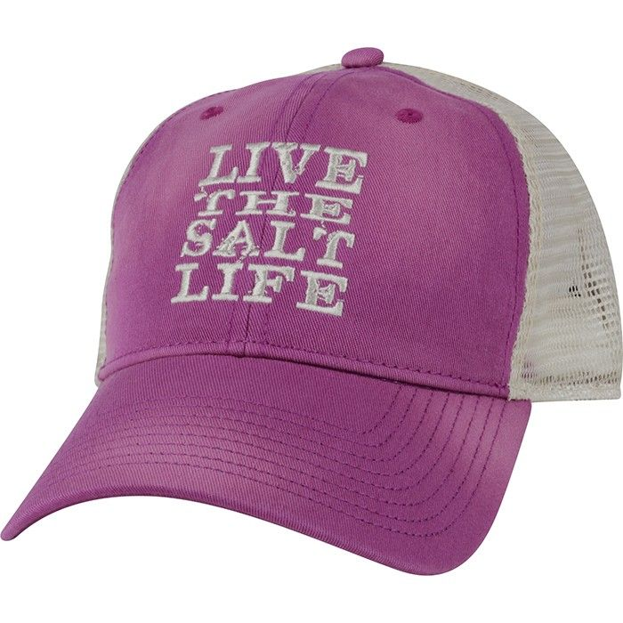 Live The Salt Life Hat