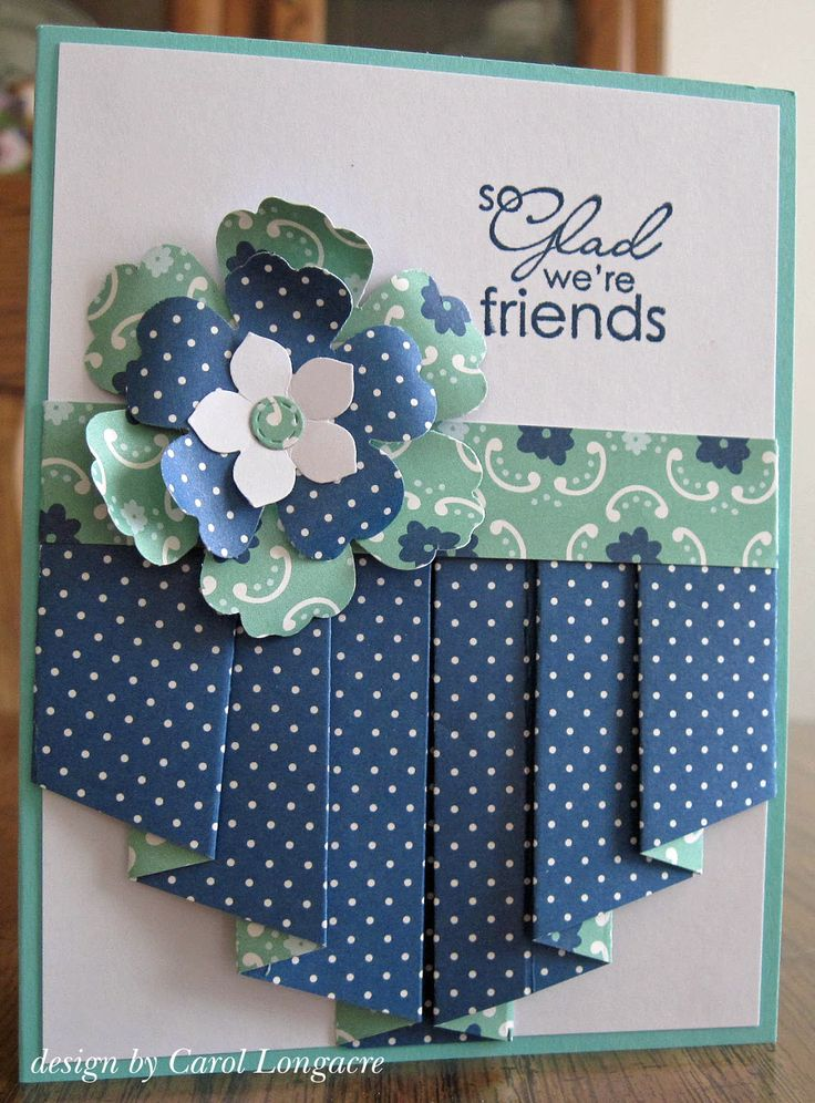 Our Little Inspirations: Full Pleated Cards