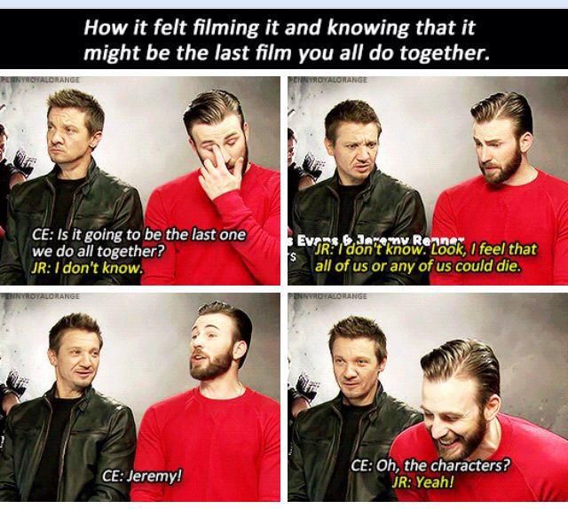 Jeremy Renner is Clint Barton. You cannot tell me otherwise.