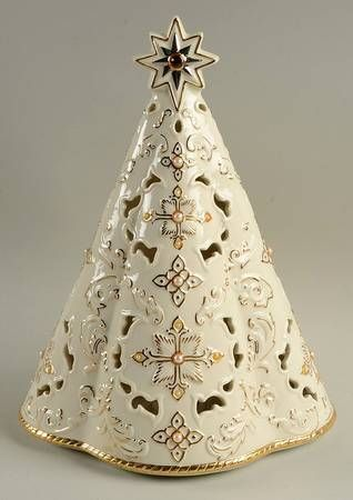Lenox Florentine Amp Pearl Collection Musical Lighted Tree