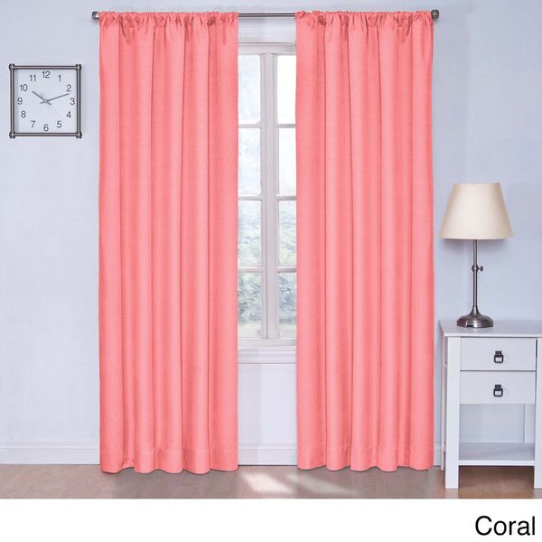 25 best ideas about coral curtains on navy