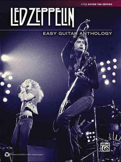 Led Zeppelin Easy Guitar Anthology: Easy Guitar Tab Edition