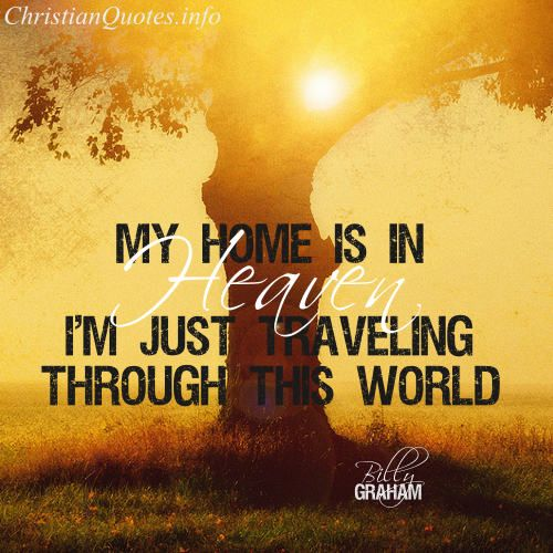 For more Christian and inspirational quotes, visit www.ChristianQuotes.info #Christianquotes #Billy-Graham-Quotes