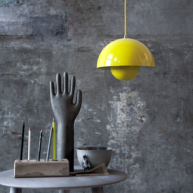 Flowerpot Pendant Lamp by Verner Panton #Contemporary, #Lamp, #MadeInUSA, #Pendant