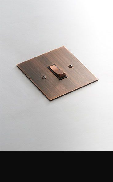 Brushed Copper Electric Sockets & Switches